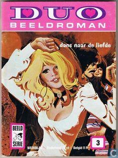Strips - Duo Beeldroman (tijdschrift) - Dans naar de liefde - getekend door Purita CAMPOS