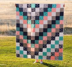 By Popular Demand Quilt Pattern | Treat yourself (and your new grandbaby) to a quick and simple quilt pattern!