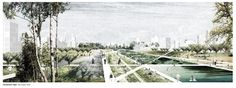 """Gallery of 4000 Shades of Green: Transborder Studio's Redesign Proposal for the """"Grey Belt"""" in St. Petersburg - 3"""