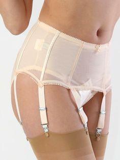 c454b7509a What Katie Did Cabaret Peach Suspender Belt