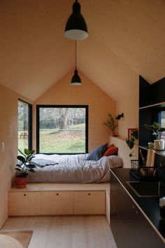 In Sydney , Australia Richie Northcott has recently created a tiny house called Barrington Tops cabin. This house has simple but comfortable interior suitable