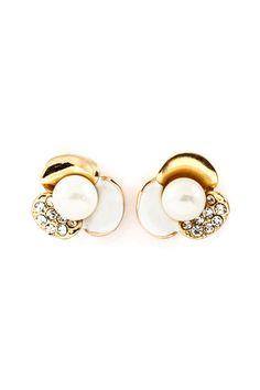 Ivory Fia Blossom Earrings | Emma Stine Jewelry Earrings