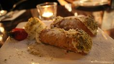 Made daily - classic cannoli Cannoli, Sicilian, Sausage, Meat, Classic, Desserts, Food, Beef, Meal