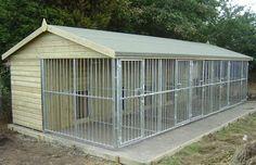 Dog center kennel design