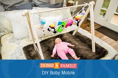 DIY Baby Mobile -  Keep your baby entertained no matter where they are with @orlyshani's mobile, mobile! Catch Home and Family weekdays at 10/9c on Hallmark Channel!
