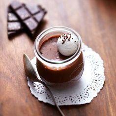 Recette : Petits pots de crème au chocolat