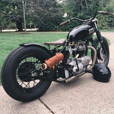 lowbrowcustoms:  Nice Triumph by @howslowthingsturn found on our friends  @bobbers_n_choppers page. Give them a follow! #lowbrowlife #lowbrowcustoms #bobbersnchoppers #BNC   Triumph