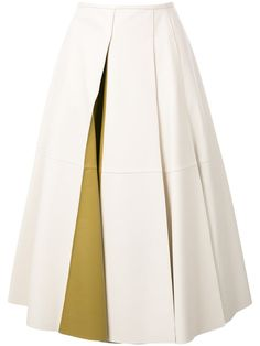 JIL SANDER Pleated Skirt. #jilsander #cloth #skirt