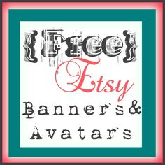 free etsy shop banners and avatars