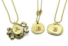 Love this necklace in the middle! Gift idea for me!
