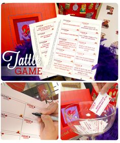 The Red Hat Society Tattle Game