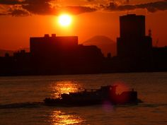 """Tokyo Bay, from where Tenji and his mother begin their long voyage to Britain in """"A Disturbed Girl Implodes""""."""