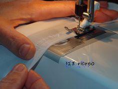 Come si l'orlo a tessuti #trasparenti - 123ricreo - #cucito #sew