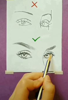 Pencil Drawing Step by Step Eye Draws (realistic and colorful) -. Pencil Drawing Step by Step Eye Draws (realistic and colorful) -. Drawing Techniques, Drawing Tips, Painting & Drawing, Drawing Ideas, Drawing Hands, Drawing Drawing, Drawing Artist, Drawing Skills, Art Drawings Sketches Simple