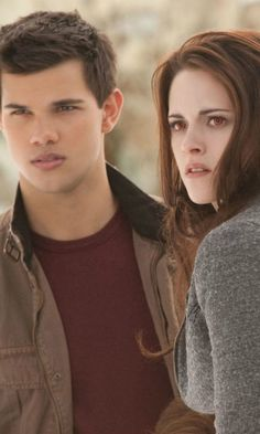 Twilight: Breaking Dawn – Part 2 - Jacob Black & Bella Swan (Taylor Lautner and Kristen Stewart)