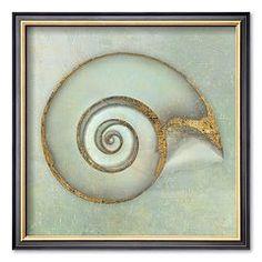 """Art.com """"Neptune's Garden I"""" Framed Art Print by Bert Meyers"""