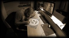 How I have drawn my logo | Doodle | World of Sepia