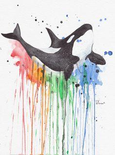 Happy Killer Whale