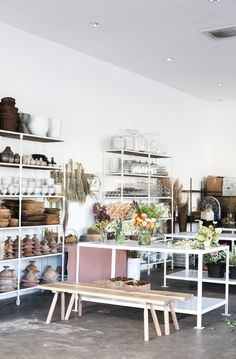 kristen caissie moon canyon california florist Flower Shop Decor, Flower Shop Design, Flower Shops, Florist Shop Interior, Studio Interior, Flower Shop Interiors, Flower Room, Home Office, Flower Studio