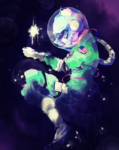 Craig Tucker ~ space man