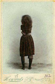 Ruth St. Denis, modern dance pioneer, at age 16, 1895