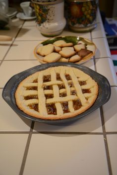 Final result: crostata and cookies!
