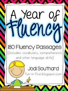 Fun in First Grade: Building Reading Fluency