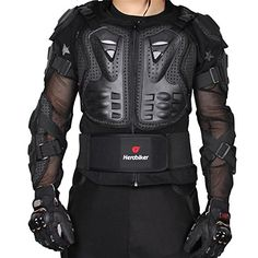 HEROBIKER Motorcycle Full Body Armor Jacket spine chest protection gear Motocross Motos Protector Motorcycle Jacket 2 Styles (M, Black) Buy Motorcycle, Motorcycle Leather, Motorcycle Outfit, Motorcycle Jacket, Casual Skirts, Women's Skirts, Hunter Brown, Heated Jacket, Body Armor
