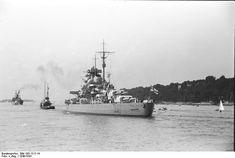 https://flic.kr/p/9CWE3P | Schlachtschiff Bismarck (1939) | Courtesy of Deutsches Bundesarchiv.