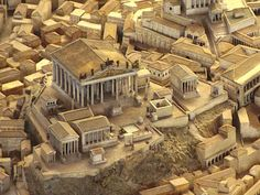 Il Plastico -- The Capitoline Hill and the Temple of Jupiter Optimus Maximus