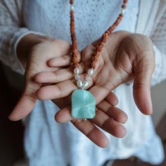 Malas – Tiny Devotions – Mala Bead Necklaces, Bracelets, Rings, and Yoga Jewelry. Handmade with intention. Bead Necklaces, Beaded Bracelets, Pendant Necklace, Turquoise Gemstone, Turquoise Necklace, Yoga Jewelry, Amethyst, Jewelry Design, Beads