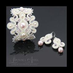 434 kolczyki sutasz Lianna Anna Lipowska biżuteria ślubna