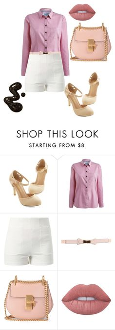 """""""Untitled #935"""" by maria-cmxiv on Polyvore featuring Joules, Lost Society, Boohoo, Chloé and Lime Crime"""