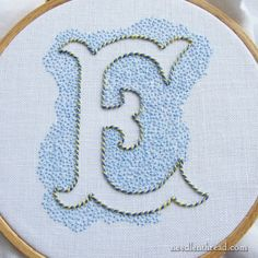 Embroidered Monograms Tips & Techniques – Index – NeedlenThread.com