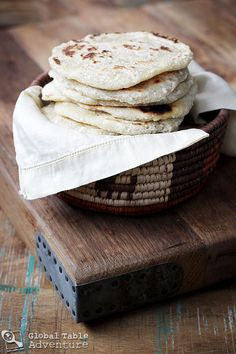 Easy Coconut Roti (a.k.a. 3 ingredients until happiness)