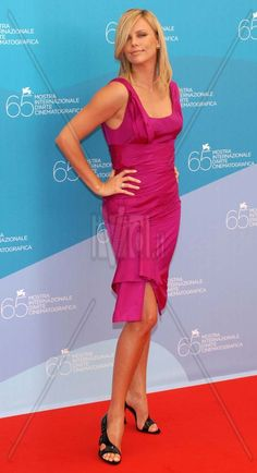 Charlize Theron (Venezia 2008)