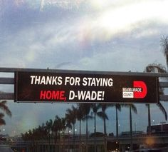 The 305 keeps showering Dwyane Wade with love!