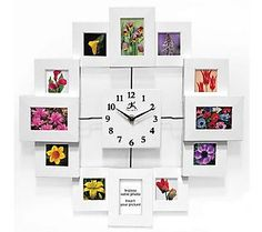 Time Capsule Picture Frame Clock...23 bucks on QVC....I want one!