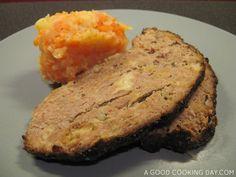 Pain de viande et stoemp aux carottes