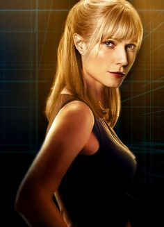 AH! It's Pepper Potts!! I love the Iron Man movies so much...