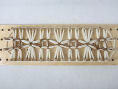 Le coccole di Maria Gio: Un collo con stecca telaio, nuovo disegno......