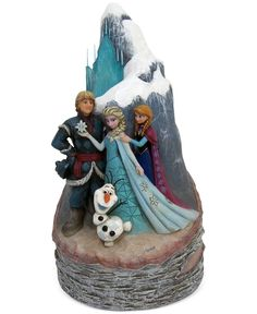 Jim Shore Frozen Carved by Heart Collectible Figurine