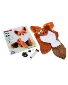 Minicraft Fox Cub sewing kit #sewing #sewed #craft #make #kit #gift