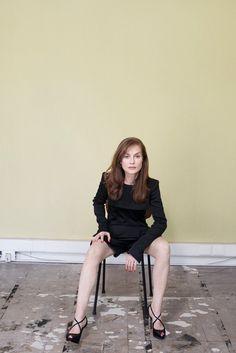 Isabelle Huppert - Kate Barry - Portraits | Gallois Montbrun & Fabiani