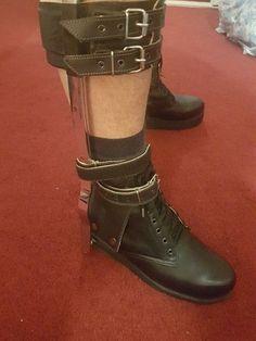 Biker, Braces, Boots, Fashion, Crotch Boots, Moda, Fashion Styles, Shoe Boot, Fashion Illustrations