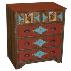 Rodeo Girl Dresser