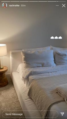Cute Bedroom Decor, Room Ideas Bedroom, Home Bedroom, Bedrooms, Dream Rooms, Dream Bedroom, Home Room Design, Home Interior Design, Minimalist Room