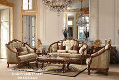 Furniture Kursi Tamu Set Ukiran Klasik