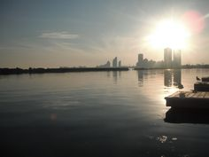 At the Lakeshore. Such a beautiful evening! :)
