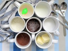 Brownie de chocolate en el microondas